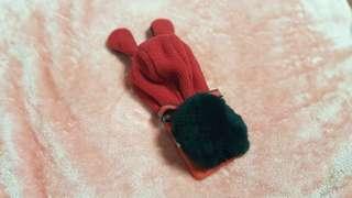 SAMSUNG S8 兔子帽子手機殼