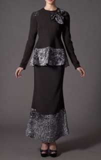 Hatta Dolmat 3 Lady Sequin Shaded in Black