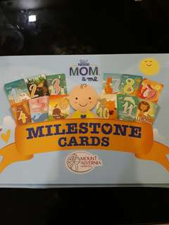 Brand New Milestone Cards
