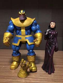 Marvel Select Thanos with Mistress Death