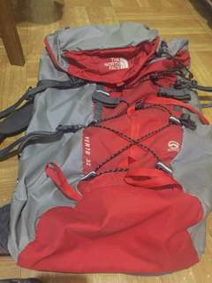 north face hiking bag