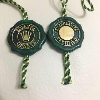 Rolex 勞力士 綠色牌仔 天文台認證牌 新牌5年保養