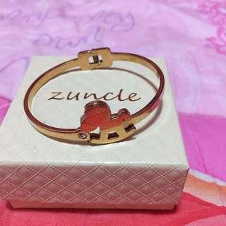Gold Stainless Bangle Bracelet