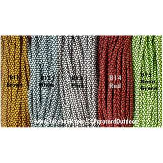 10ft Paracord Snake Skin Diamond Cord Survival 7 strands