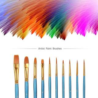 Art and Craft Paint Brushes Set Nylon