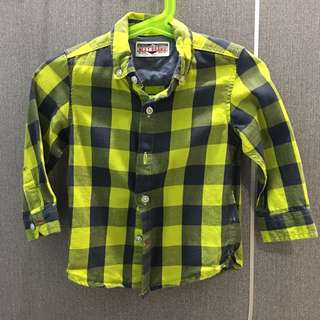 NEXT checkered shirt