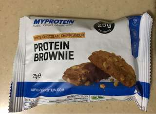 MYPROTEIN Protein Brownie White Chocolate