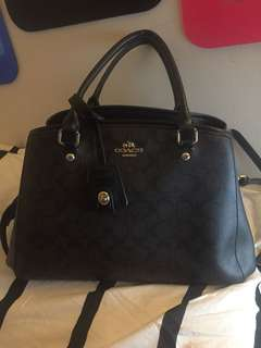 good as new authentic coach sling bag with care card, receipt and dust bag