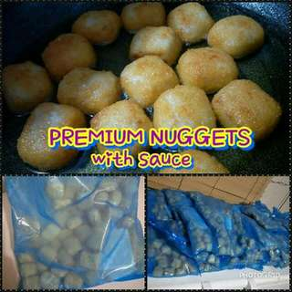 PREMIUM BOUNTY NUGGETS 1KG with SAUCE