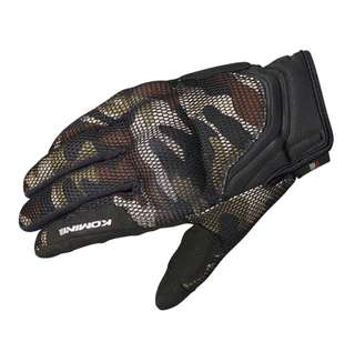 Camo Motorcycle Riding Racing Glove with Protector Padding Knuckle Guard 3D Mesh with Touch Screen Ability for Motorbike Motor Cycling Bicycle