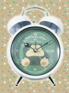 Pokemon: Sun & Moon - Relaxation Time Twin Bell Clock weight:400g