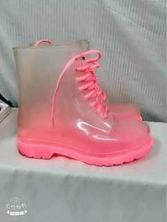 🚚 透明雨鞋