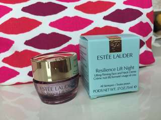 ESTEE LAUDER, Resilience Lift night creme