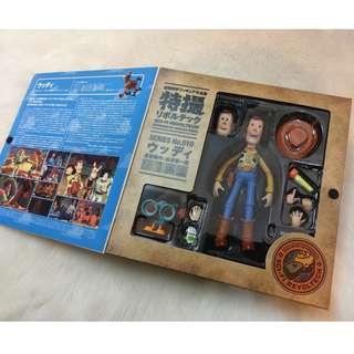 正版 初版 日版 胡迪 迪士尼 海洋堂 山口式 淫賊胡迪 惡搞 拍照 攝影 巴斯 翠絲 童年 盒裝 擺飾 收藏