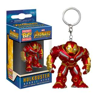 🚚 [Preorder] Funko Pocket POP! Marvel: Avengers Infinity War - Hulk Buster Keychain