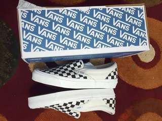 Vans Vault OG Slip On Checkerboard Black White