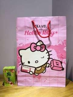 Hello Kitty絕版紙袋