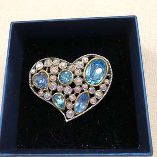 Sale !! @$45. Brand new Swarovski crystal scarf brooch.
