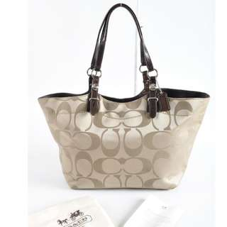 AUTHENTIC COACH MEDIUM SHOULDER TOTE BAG