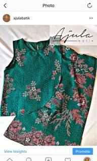 Palazo batik and top