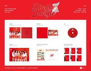 AOA 5th Mini Album: Bingle Bangle