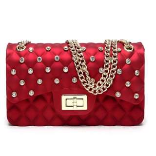Ladies Jelly Bag Sling Bag from Thailand New Design
