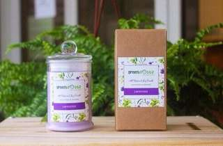 Lavender Scented Soy Candle 175ml