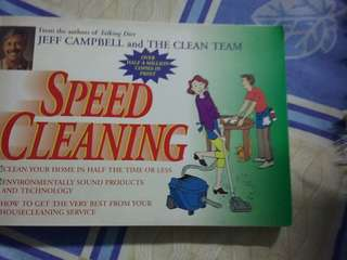Speed cleaning by Jeff Campbell and The Clean Team