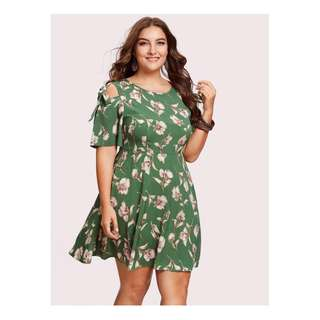 Plus Size Fashion Dress - COD