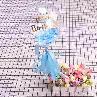 "5"" Transparent Birthday / Love Balloon Set #ramadan50"