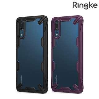 華為HUAWEI P20 Ringke by Rearth Fusion X 軟邊透明手機殼 保護套Case 0585A