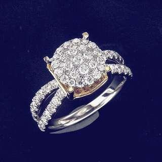 Cincin berlian hongkong