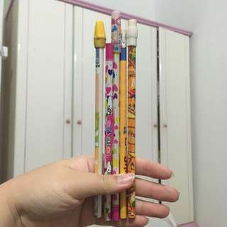 Cute Wooden Pencils