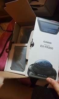 自拍神器 casio ex-fr200