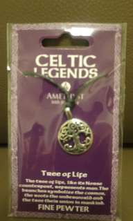 Brand new Fine pewter 'Tree of Life' necklace
