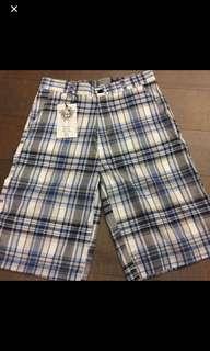 🚚 全新格子短褲