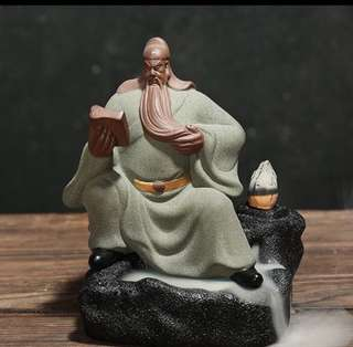 Guan yu backflow incense burner