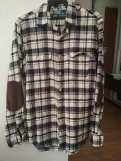 Vintage Ralph Lauren button down flannel