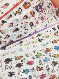 10+ Sheets Of Journaling Sticker