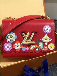ramadhan sale! lv twist epi floral mirror replica bag