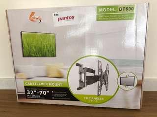 "Inxus model DF600 32""-70"" cantilever mount tv tilt angle"