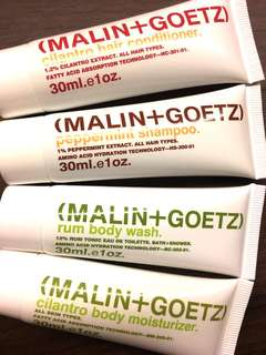 Malin + Goetz Travel Toiletries