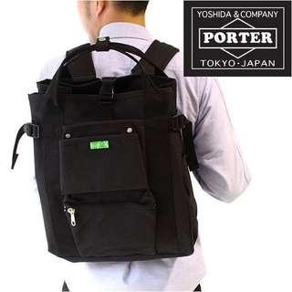 ‼️正版日本porter後背包