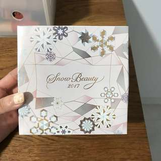 BN SHISEIDO SNOW BEAUTY 2017