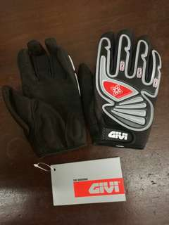 GIVI BASIX RIDING GLOVE ( M size ) Black