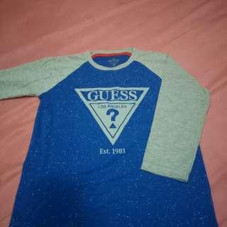 Kaos Lengan Panjang anak Laki-Laki size 6-7y