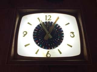 方型古董電鐘