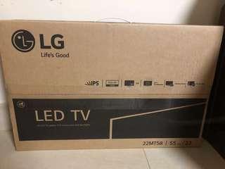 [全新]LG 22MT58 電視 (未開盒有保養)