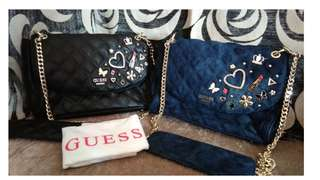 AUTHENTIC GUESS QUILTED