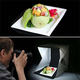 Photobox set light box led photoshoot product